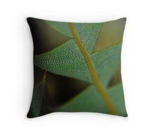 Reptile Plant Throw Pillow