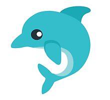 Dolphin EmojiOne Emoji by emoji