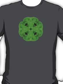 """""""Spirit of India: Blossom"""" in emerald green T-Shirt"""