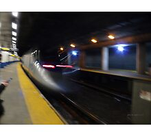 Acela Express Exits Providence Station [ Featured* ] Photographic Print