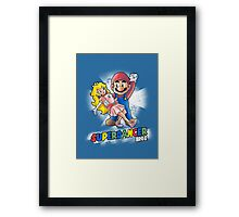 Superdancer Framed Print