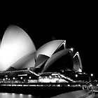 Sydney After Dark - Opera House by Daniel Pua