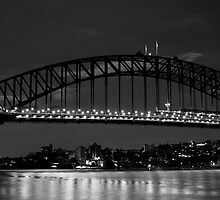 Sydney After Dark - Harbour Bridge by Daniel Pua