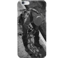 Step 3, Safety First, Construction site (635 Dallas, TX) iPhone Case/Skin