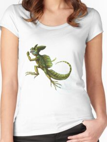 Basilisk Women's Fitted Scoop T-Shirt