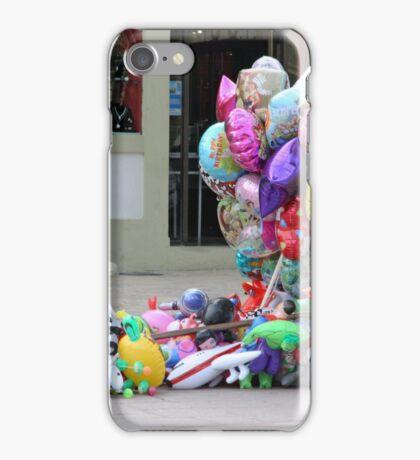 Missing Balloon Man iPhone Case/Skin