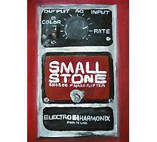 Radiohead Small Stone Guitar Pedal Fine Art Print Of Acrylic Painting Photographic Print