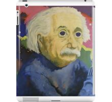 Albert Einstein LSD iPad Case/Skin