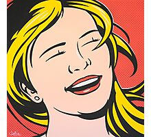 Laughing Girl Photographic Print