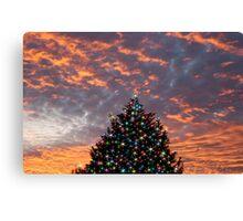 Christmas Sky Canvas Print