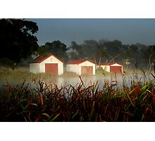 The Boatsheds Photographic Print