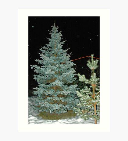 Looking for X-Mas Tree Art Print