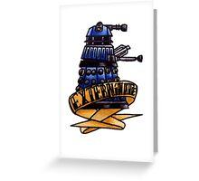 Dalek - Doctor Who  Greeting Card