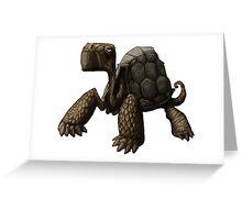 Tortoise Greeting Card