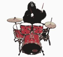 He drums like an animal! by DEWAR