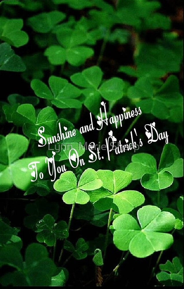 Happy St. Patrick's Day! by Marie Sharp