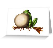 Tree Frog Greeting Card
