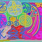 Reiki Healing sign (Pink) by Chitrakar