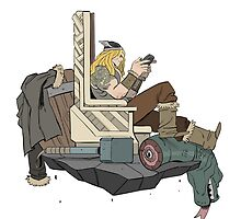 Thor taking a break by dynamaito