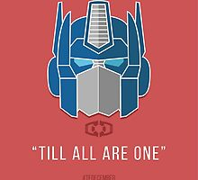 "TFDecember 09 - Optimus Prime ""Till All Are One"" by josedelavega"