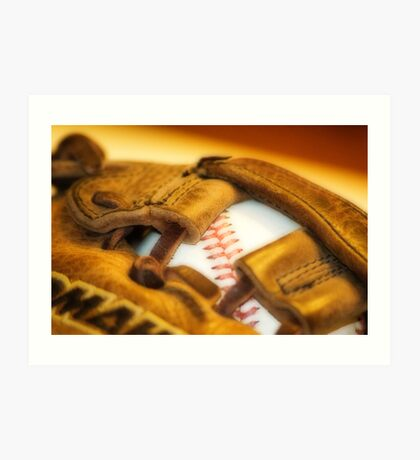 How About a Game of Baseball Art Print