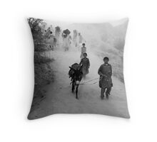Road to the Pilgrimage - 5 Throw Pillow