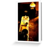 The Black House Greeting Card