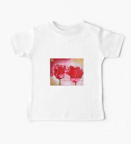 Two Tulips Baby Tee