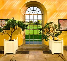 Orangery Window by Paul Woloschuk