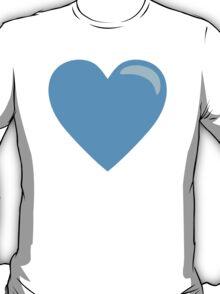 Blue Heart EmojiOne Emoji T-Shirt