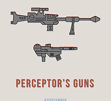 TFDecember 18 - Perceptor's Guns by josedelavega