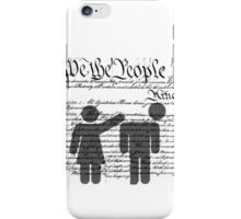 We the People iPhone Case/Skin