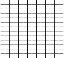 white grid minimalist design Photographic Print