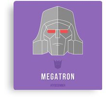 TFDecember 22 - Megatron Canvas Print