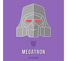 TFDecember 22 - Megatron Photographic Print