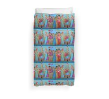 Three of Hearts Divided Duvet Cover