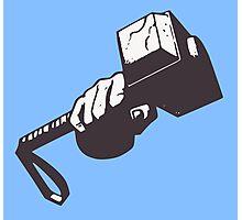 Thor hammer Photographic Print