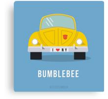 TFDecember 25 - Bumblebee G1 Canvas Print