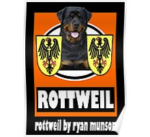 rottweil wall Poster