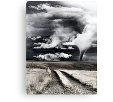 Disaster Area Canvas Print