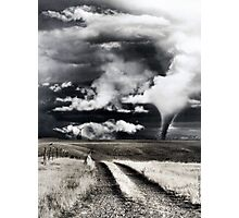 Disaster Area Photographic Print