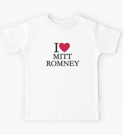 I love Mitt Romney Kids Tee