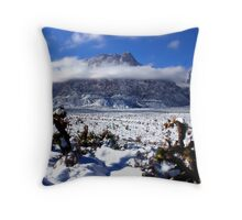 Heavenly Mount Wilson Throw Pillow