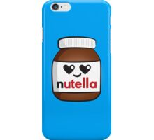 Nutella face 5 iPhone Case/Skin