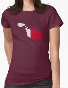 Malta map flag T-Shirt