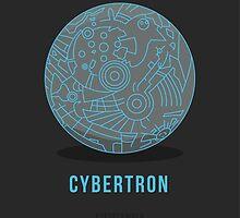 TFDecember 31 - Cybertron by josedelavega