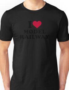 I love model railway Unisex T-Shirt