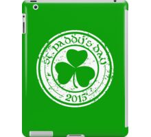St. Paddy's Day 2015 iPad Case/Skin