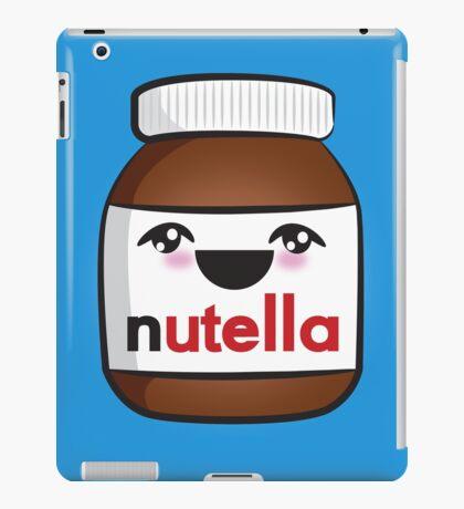 Nutella face 1 iPad Case/Skin