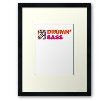 DrummN' Bass Framed Print